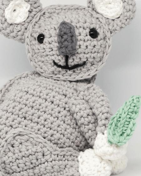Crochet Koala Bear Pattern by Yarn Hild