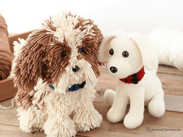 Crochet Puppy Dogs Pattern by Jen Hayes Creations