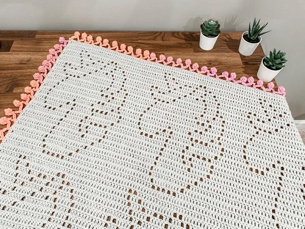 Crochet Unicorn Blanket Pattern by Owl B Hooked