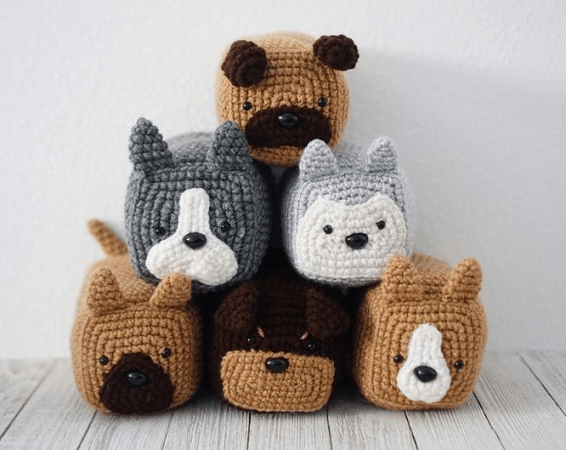 Dog Loaf Crochet Pattern by Knot Too Shabby Crochet
