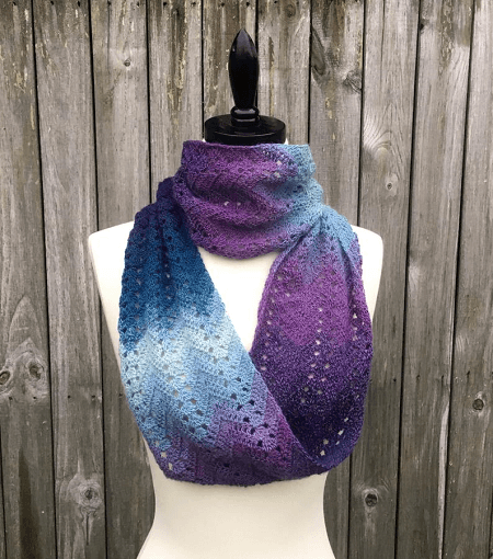 Fall Infinity Scarf Crochet Pattern by Knit And Crochet Evr Aft
