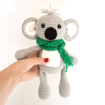 KELLY THE KOALA – Amigurumi Pattern – Pepika Amigurumis | 450x450