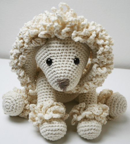 Free Crochet Poodle Pattern by Lucy Kate Crochet