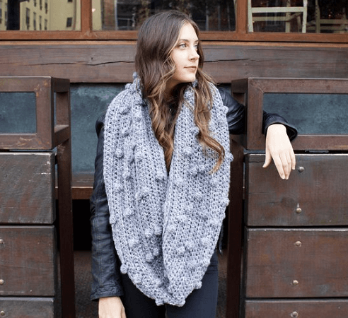 Frozen Lake Infinity Scarf Crochet Pattern by Two Of Wands