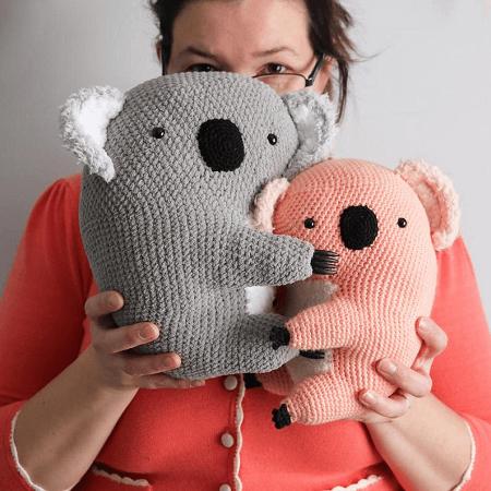 George, The Koala Cuddly Amigurumi Pattern by Irene Strange