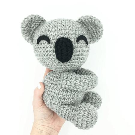 Hatching Koala Crochet Amigurumi Pattern by Kayte Dids