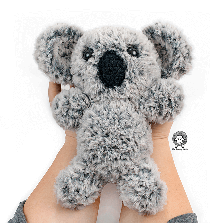 Kaya, The Koala Free Crochet Pattern by The Loopy Lamb