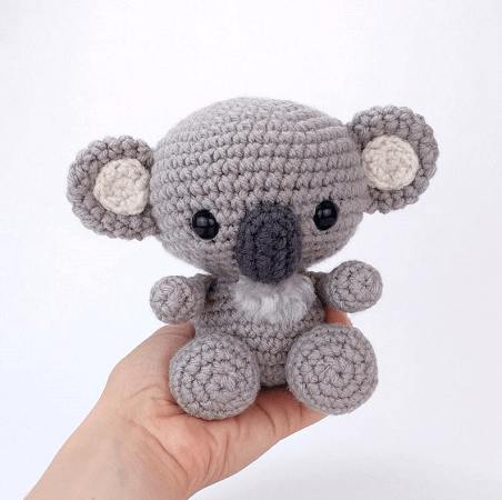 Kimba, The Koala Crochet Pattern by Theresa's Crochet Shop