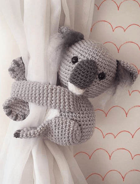 Amigurumi koala with heart - printable PDF – Amigurumi Today Shop | 592x450
