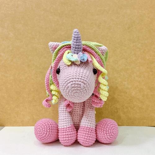 my girly unicorn amigurumi crochet pattern