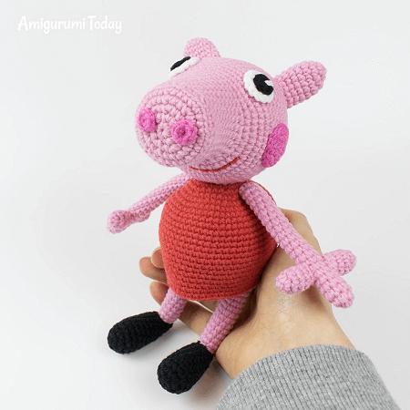 Peppa Pig Free Crochet Pattern by Amigurumi Today