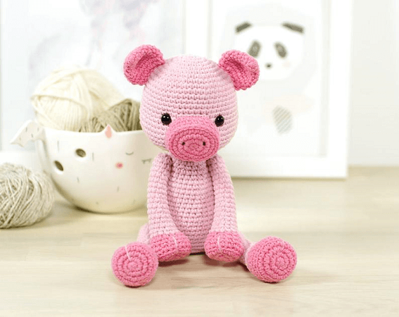 Piglet Amigurumi Pattern by Kristi Tullus