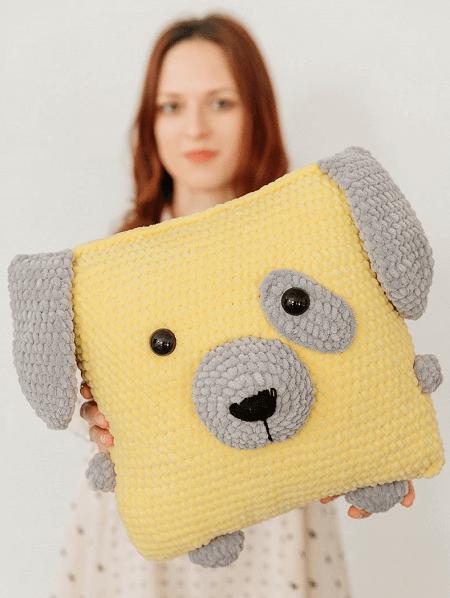 Pillow Dog Crochet Pattern by Toys By Hvatik