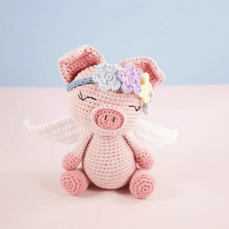 Peppa Pig - free crochet pattern - Amigurumi Today | 450x450