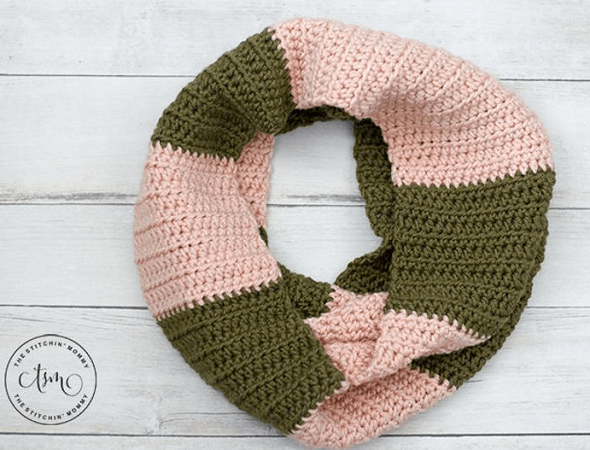 Willa Infinity Scarf Crochet Pattern by The Stitchin Mommy