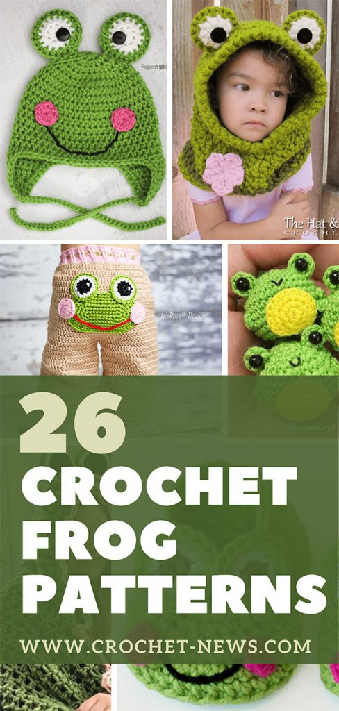 26 Crochet Frog Patterns