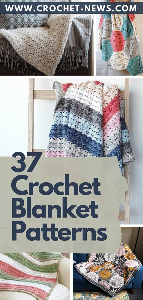 37 Crochet Blanket Patterns