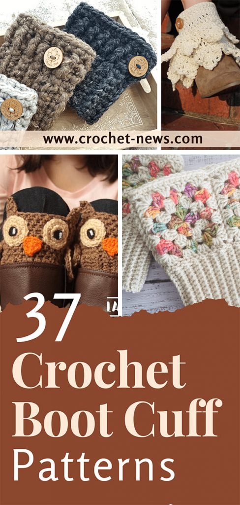 37 Crochet Boot Cuff Patterns
