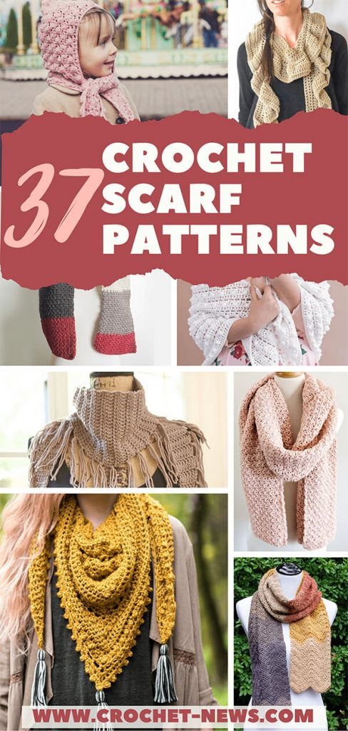 37 Crochet Scarf Patterns