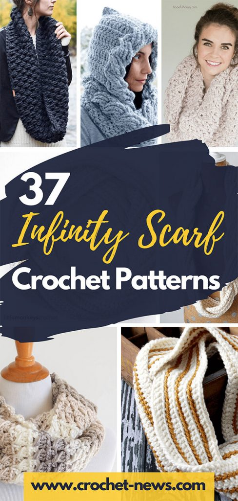 37 Infinity Scarf Crochet Patterns 1