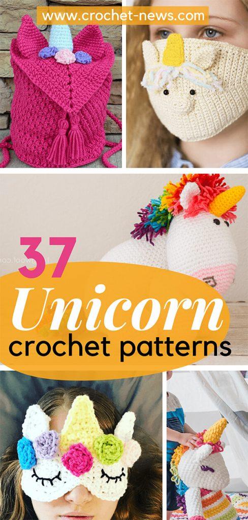 37 Unicorn Crochet Patterns