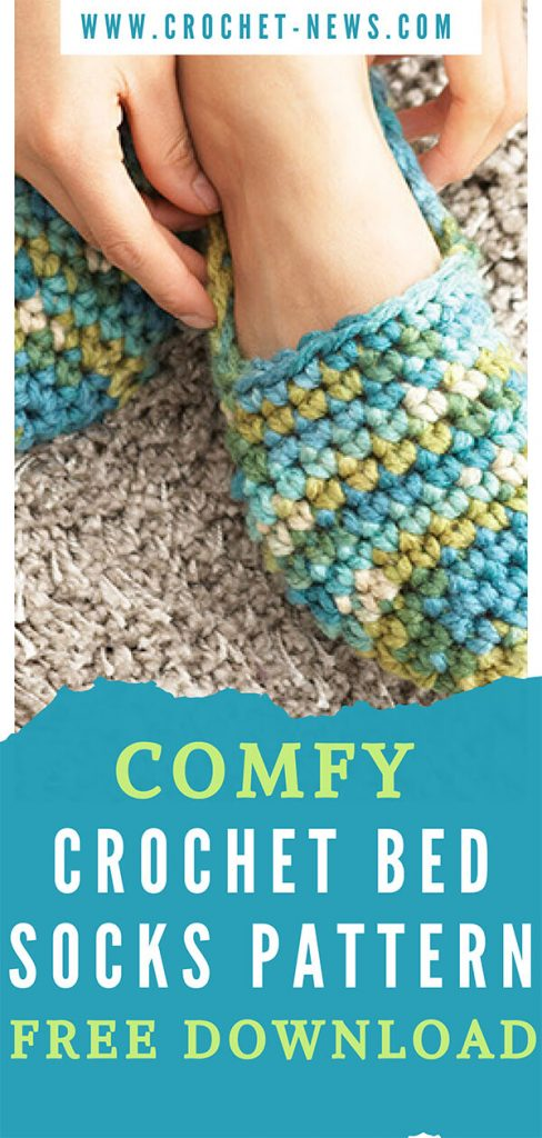Comfy Crochet Bed Socks Pattern Free Download