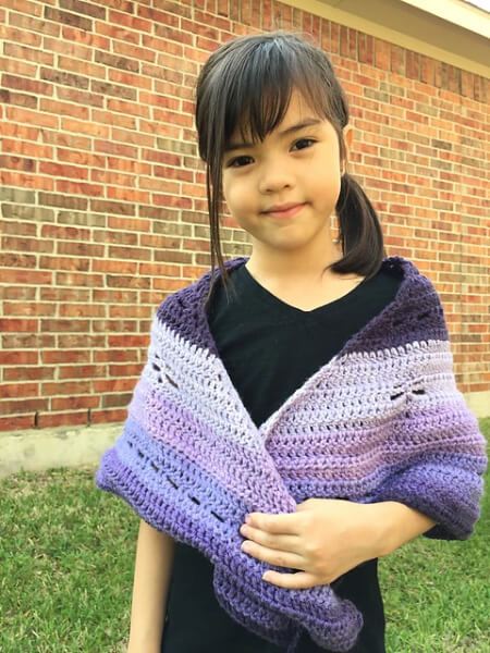 Dragonfly Shawl For Toddlers By Little Panda Mommy