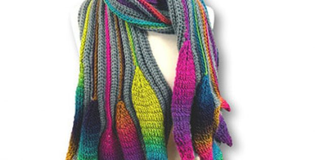 How You Can Use The Phoenix Scarf Pattern By Bonita Patterns
