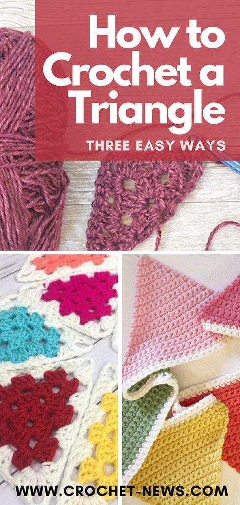How to Crochet a Triangle | Three Easy Ways
