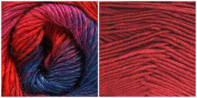 Self-striping Yarn By Bonita Patterns