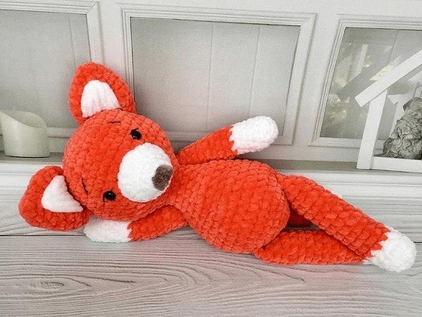 Amigurumi Plush Fox Free Crochet Pattern by Amigurumi Space