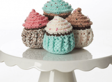 Crochet Cupcakes Pattern by Yarnspirations
