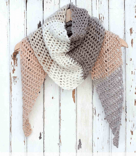 Desert Winds Scarf Crochet Pattern by Make And Do Crew