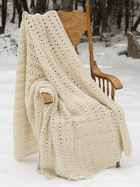 Easy Primrose And Proper Crochet Blanket Pattern by Kirsten Holloway Designs