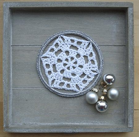 Granny Snowflake Crochet Pattern by Aletta Boleyn