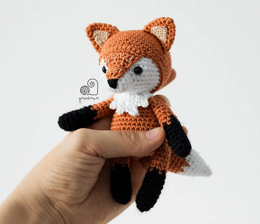 Wolf or Fox Bookmark - Crochet Pattern | Crochet bookmarks ... | 450x522