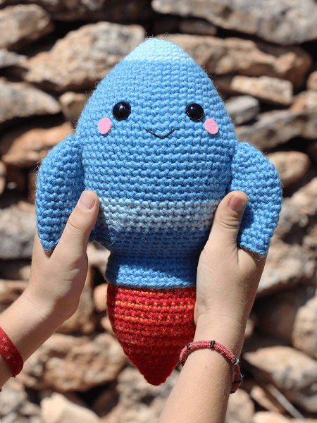 Ray, The Rocket Crochet Pattern by Tremendu