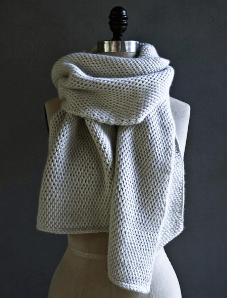 Tunisian Crochet Scarf Pattern by Purl Soho