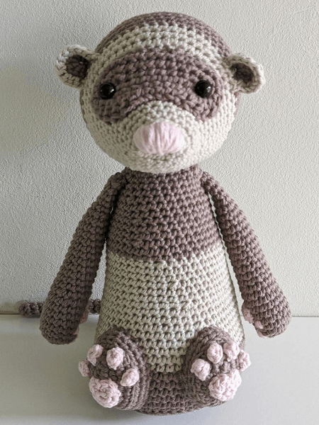 Wallace, The Ferret Crochet Pattern by Lou Ki Studio Crafts