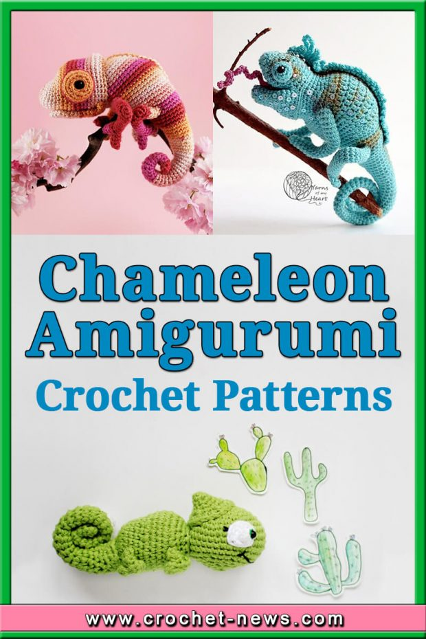 CROCHET CHAMELEON AMIGURUMI PATTERNS