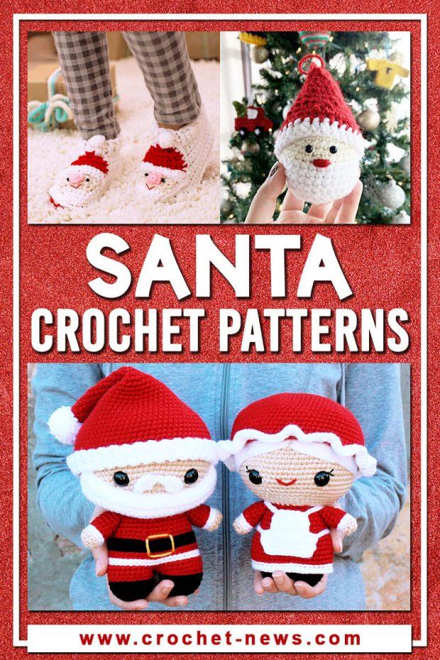 crochet santa pattern