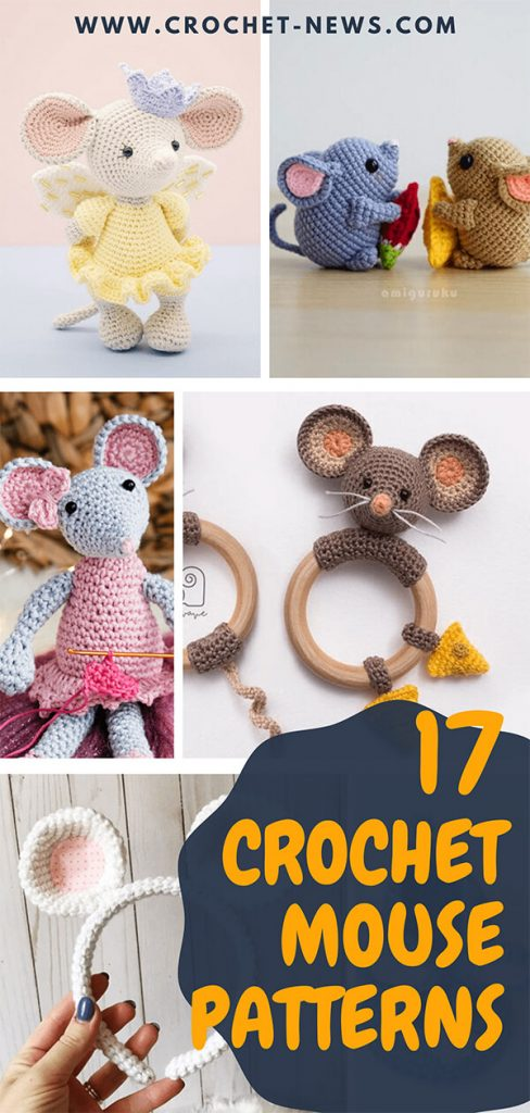 17 Crochet Mouse Patterns