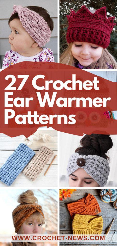 27 Crochet Ear Warmer Patterns