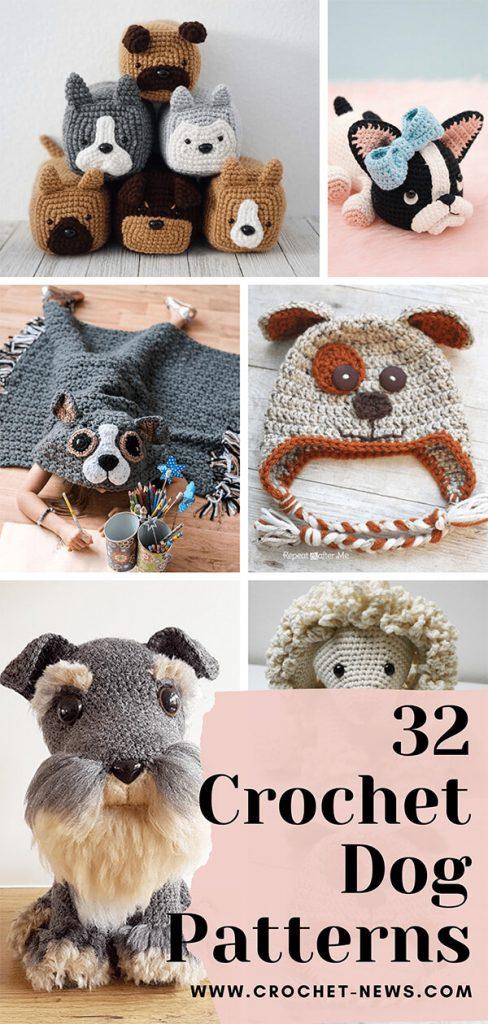32 Crochet Dog Patterns