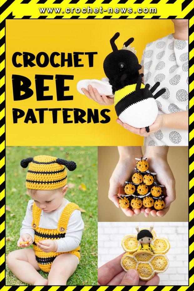 CROCHET BEE PATTERNS