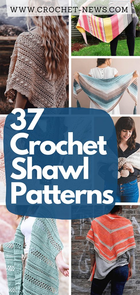 37 Crochet Shawl Patterns
