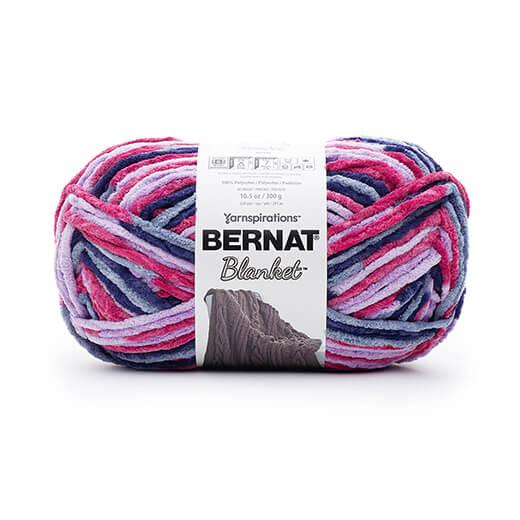 Bernat Blanket Yarn in Tourmaline From Yarnspirations