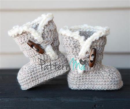 Bootie Crochet Pattern By PatternMa