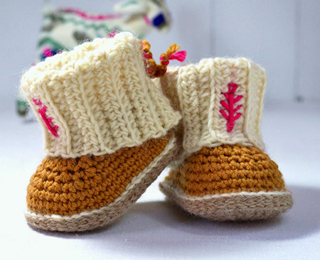 Crochet Baby Uggs Boots Pattern By matildasmeadow