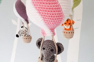 Crochet Elephant Mobile Pattern By Birdsandcrickets